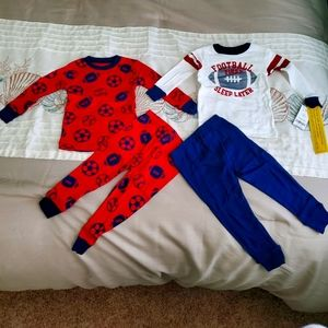 Boys 4 piece Carter's pajama set